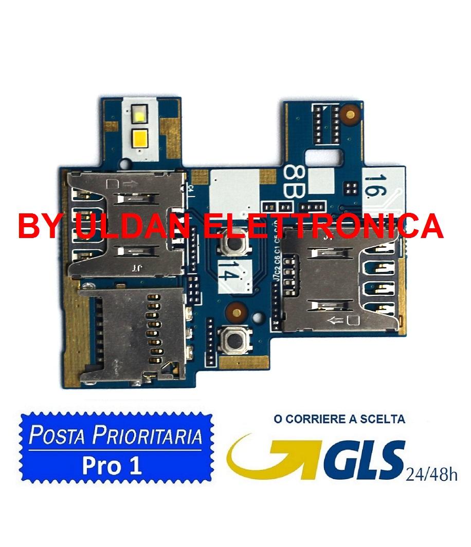 SIM Card Reader Per Asus ZB551KL X013D Zenfone Go TV Flex